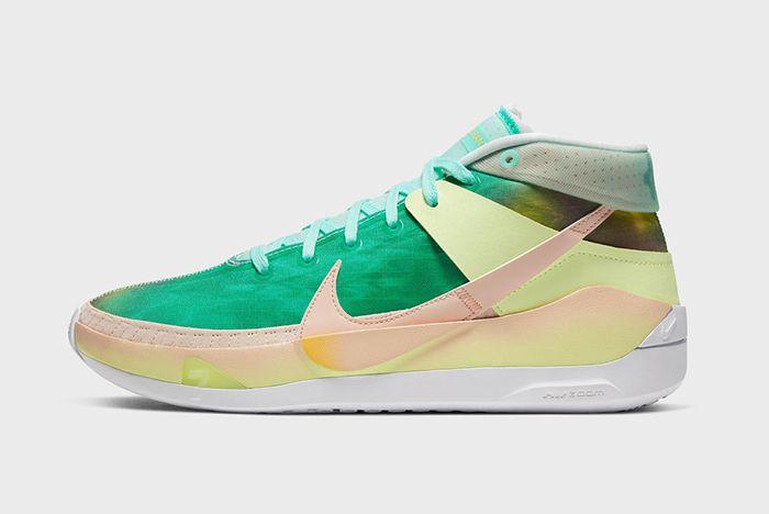 Nike Kd 13 Green Yellow