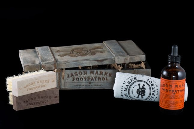 Footpatrol Jason Markk Premium Cleaning Kit Wooden Promo 1