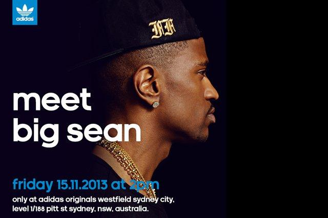 Big Sean Adidas Appearance