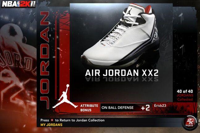Jordan Nba 2K11 Xx2 1