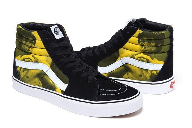 Supreme X Bruce Lee X Vans F/W13