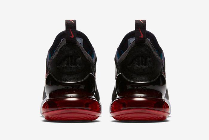 Nike Aur Max 270 Black Red 3