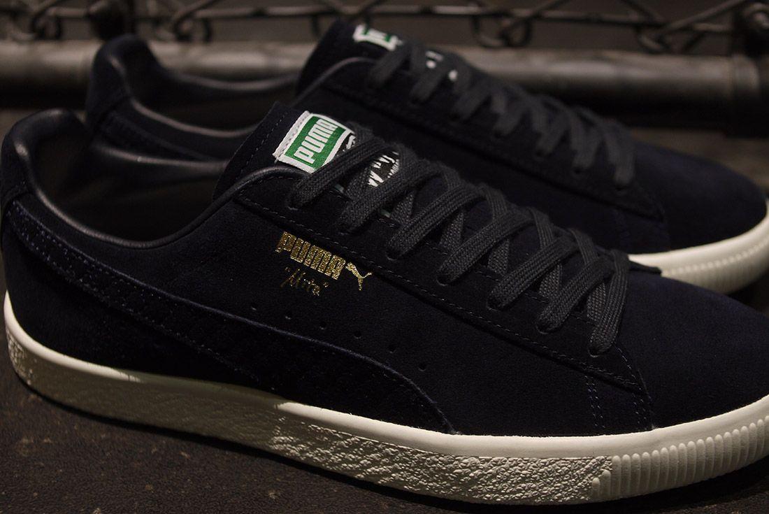 Cluct X Mita Sneakers X Puma Clyde Indigo 6