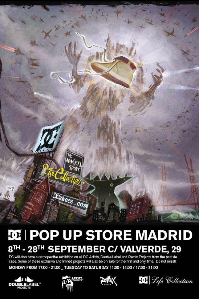 Dc Pop Up Store Madrid 2 1
