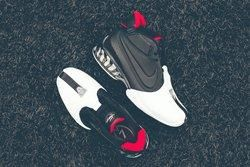 Nike Zoom Vick Ii Black Varsity Red Thumb