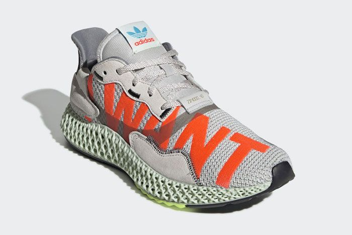 Adidas Zx4000 4 D I Want I Can Front Side