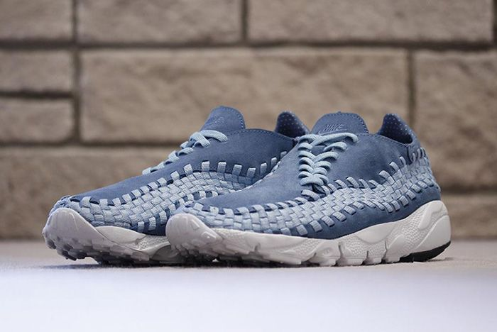 Nike Air Footscape Woven Smoky Blue 2