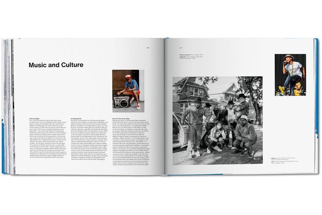 Adidas Taschen Book Music