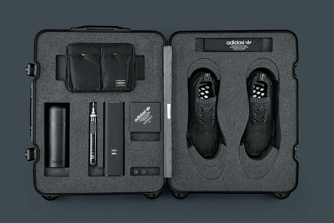 Adidas Originals Nmd R1 Pk ' Pitch Black' Utility Pack