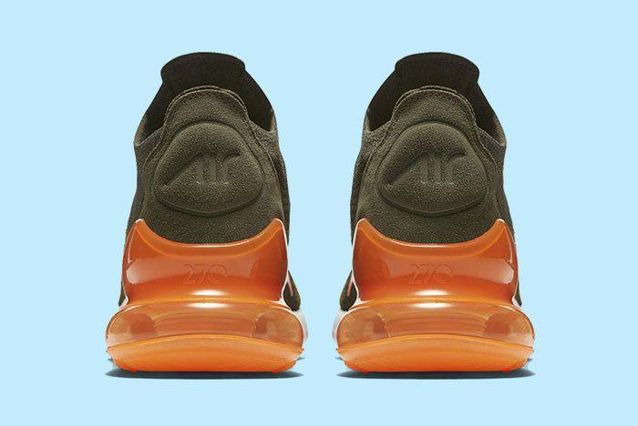 Nike Air Max 270 Green Orange 3