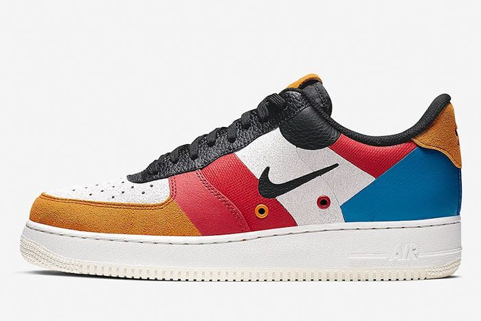 Nike Air Force 1 Low Prm Ci0065 101 Lateral