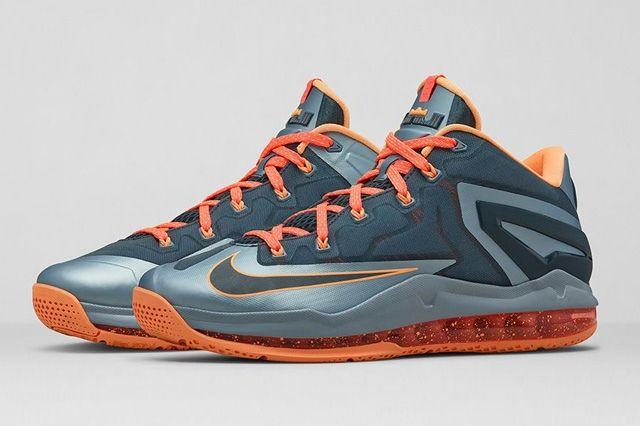 Nike Lebron 11 Low Magnet Grey 2