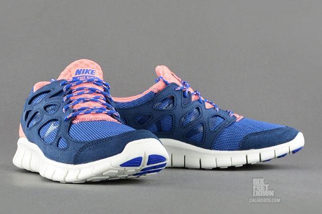 Nike Free Run 2 Brave Blue Atomic Pink 7