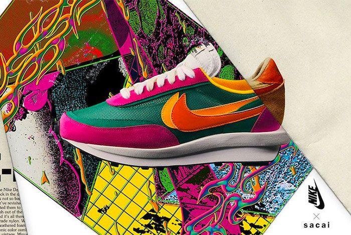 Sacai Nike Ld Waffle Left
