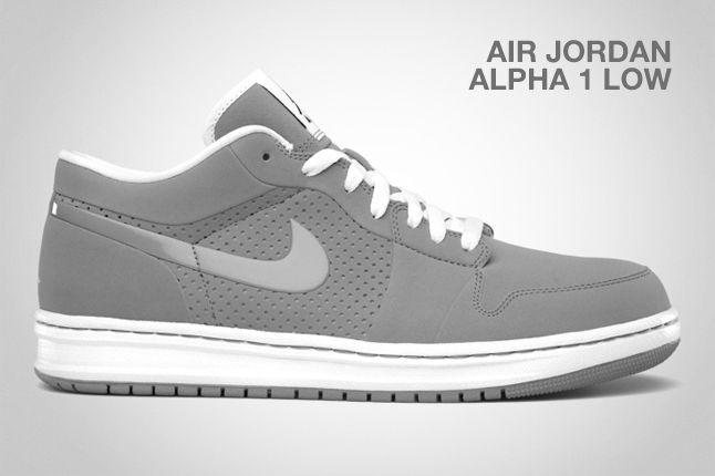 Air Jordan Alpha 1 Low Stealth 1