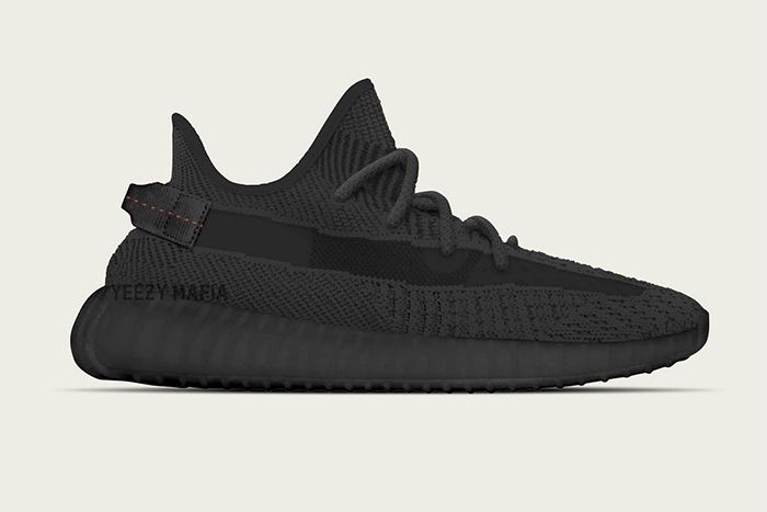 Adidas Yeezy Boost 350 V2 Black Release Date Info Lateral