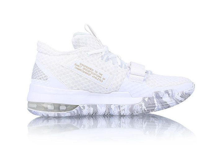 Nike Air Force Max Low White Gold Bv0651 100 Release Date 1