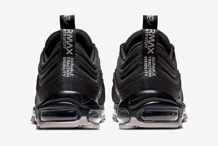 Nike Air Max 97 Winter Utlity Black Heel