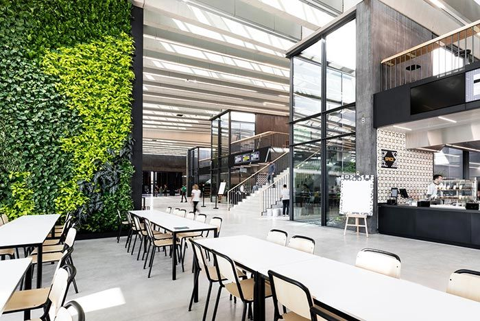 Adidas Hq Arena Cafe