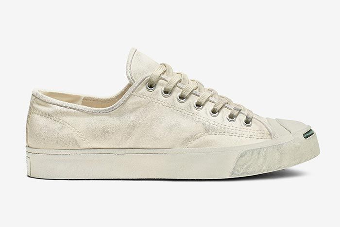 Converse Jack Purcell White Right Side Shot