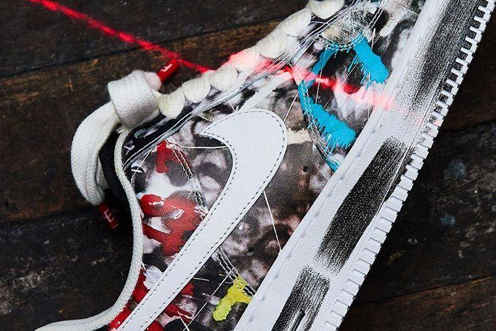 G Dragon Peaceminusone Nike Air Force 1 Close Up