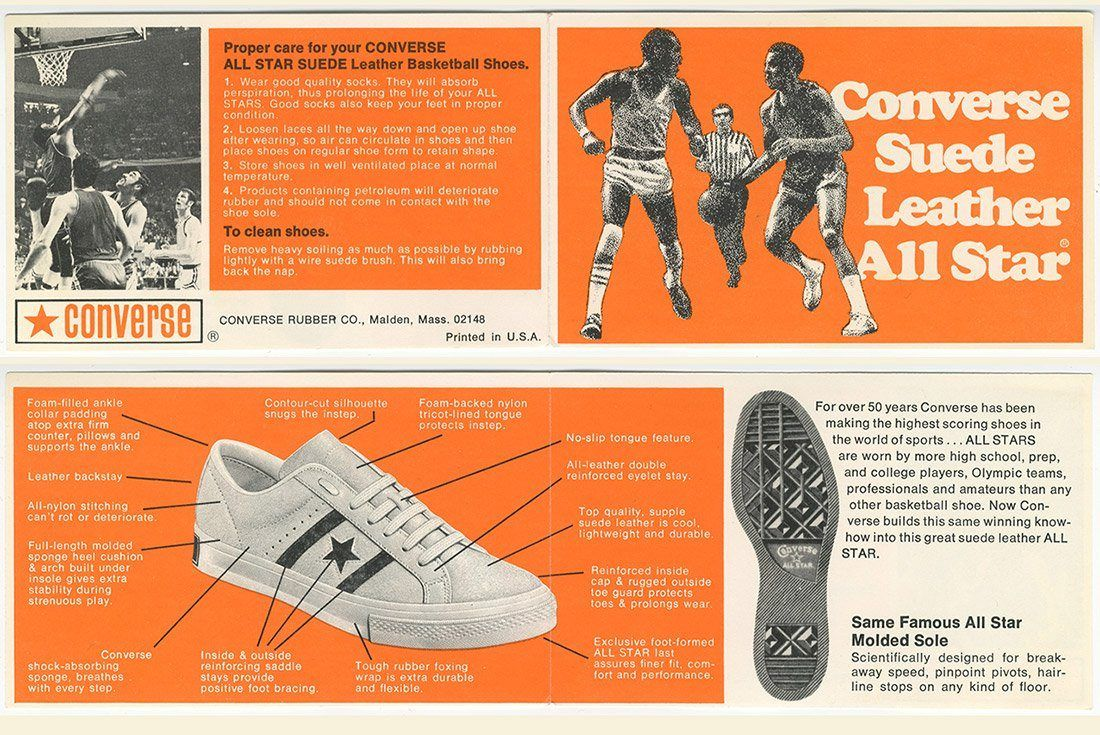 History Of Converse One Star Advertisement 2 1