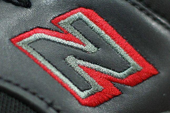 New Balance 1500 Grey Red Black Details 1