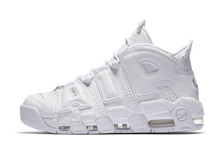 Nike Air More Uptempo Triple White 6