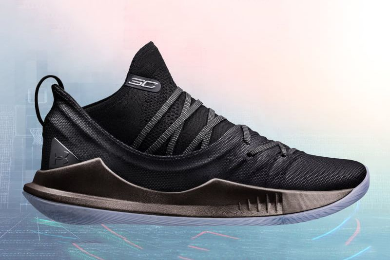 Under Armour Curry 5 Pi Day Lateral Sneaker Freaker