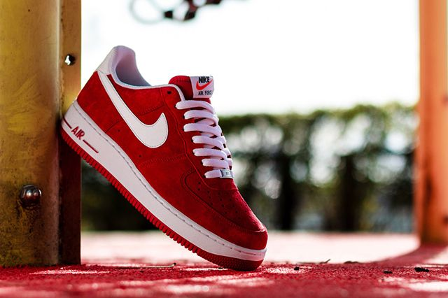 Nike Air Force 1 Low Gym Red2