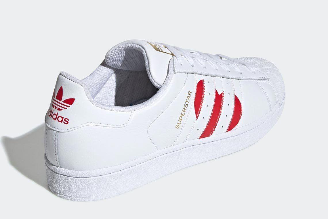 Valentines Day Adidas Superstar 3