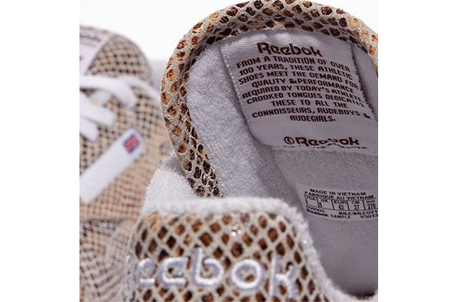Crooked Tongues Reebok Classic Leather