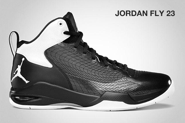 Jordan Fly 23 Black White 1