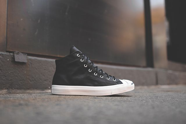 Converse Jack Purcell Mid Black White