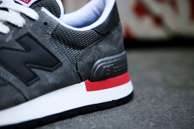 New Balance 990 Made In Usa Charcoal Grey 10
