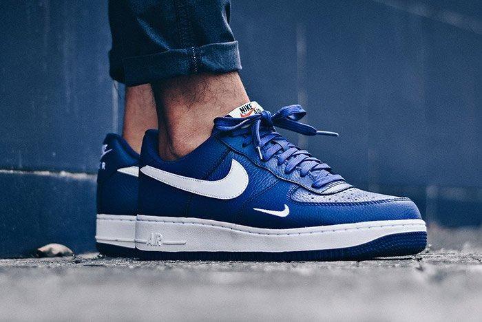 Nike Air Force 1 Mini Swoosh Deep Royal Blue 3