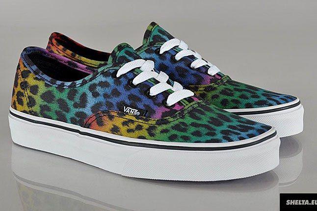 Vans Authentic Leopard Skate Shoe 1