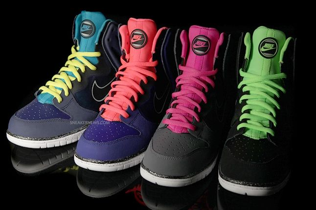 Nike Dunk High Free Grey Group 1