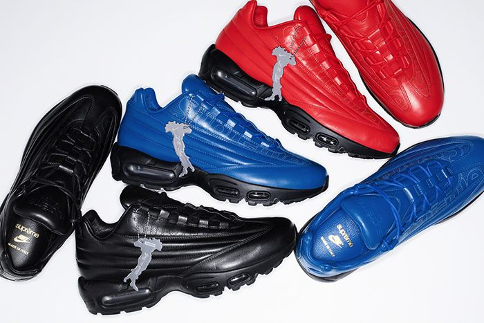 Supreme Nike Air Max 95 Lux Release Date Group Pile