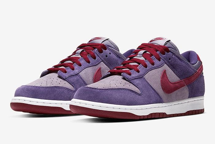 Nike Dunk Low Plum Cu1726 500 Front Angle