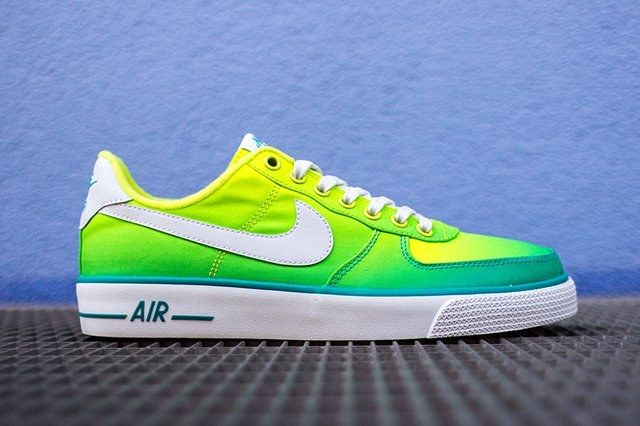 Nike Air Force 1 Ac Br Qs Green 1