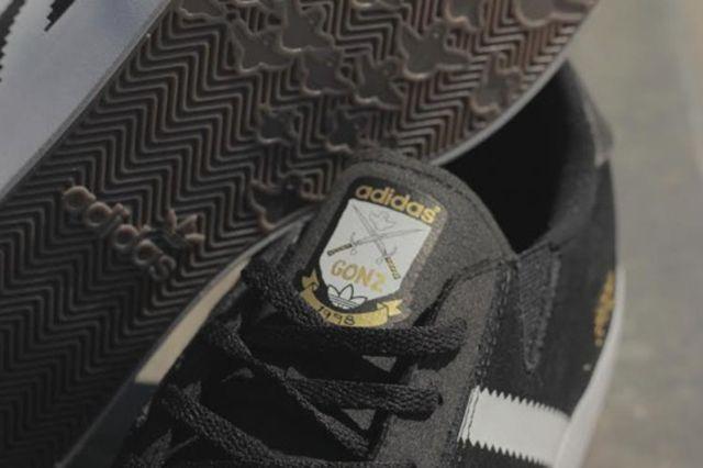 Adidas Gonzales Black White 2