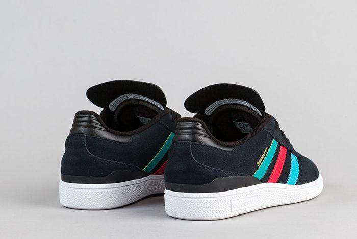 Adidas Busenitz Shoes Black Eqt Green Scarlet 5