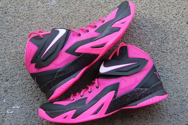 Nike Zoom Le Bron Soldier 8 Think Pink 7