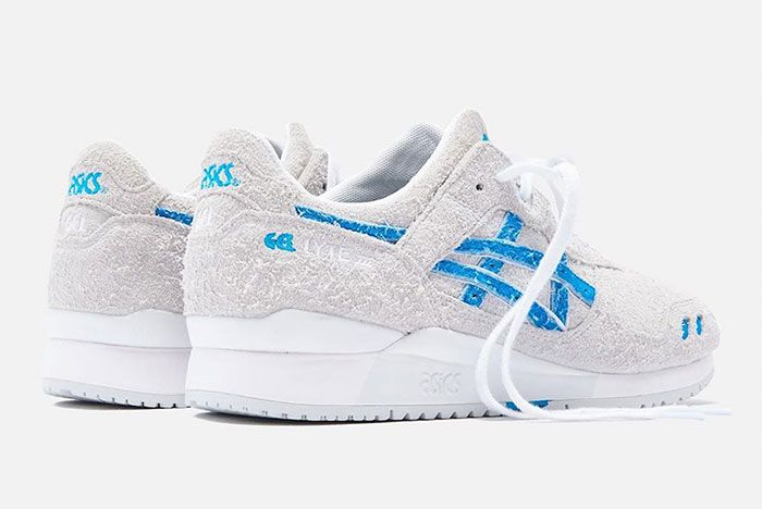 Ronnie Fieg Asics Gel Lyte 3 Super Blue Heel