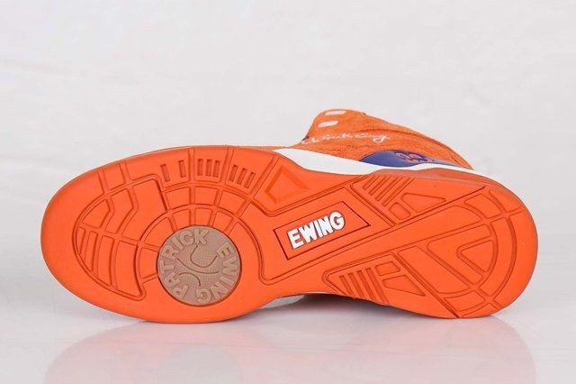 Ewing Athletics Ewing Guard Orange Suede 3