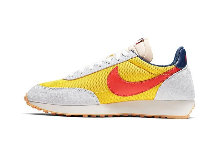 Nike Tailwind Team Orange And Tour Yellow Lateral
