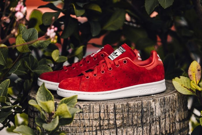 Adidas X Rita Ora Stan Smith Red Feature Lv 5 1