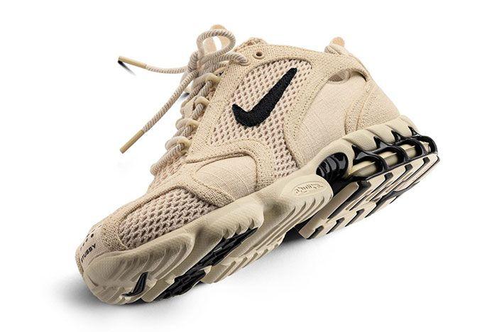 Stussy Nike Spiridon Caged Sand Close Up