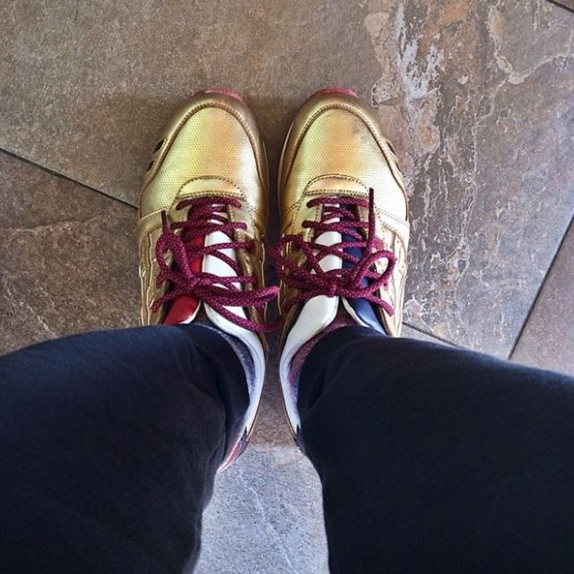 Ronnie Fieg X Asics Gel Lyte Iii Metallic Gold 1
